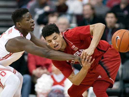 NCAA Basketball: Nebraska at Ohio State
