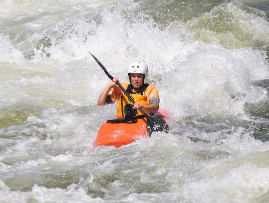 Mary Neal Kayaking