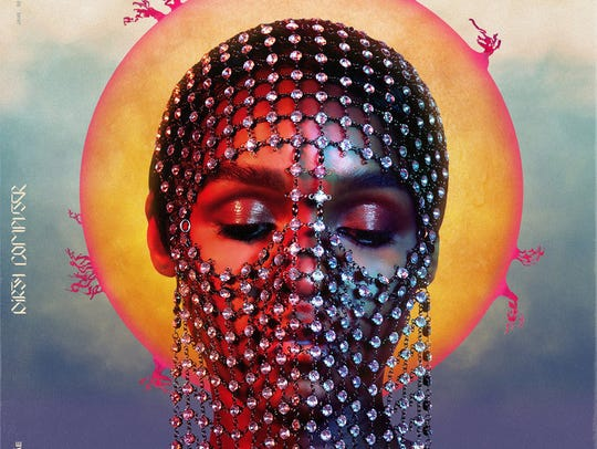 "Janelle Monae's ""Dirty Computer"" album cover."