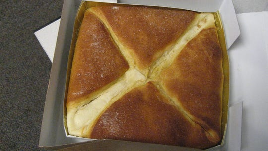 Cheese pocket from Servatii's Bakery