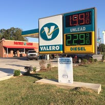 Gas prices increased slightly this week at this South City Parkway station.