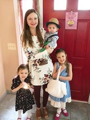 Katie Bartz, 31, of Chili, will celebrate Mother's