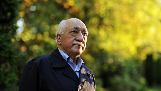 Fethullah Gulen is pictured at his residence in Saylorsburg, Pa.
