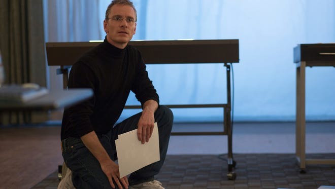 Michael Fassbender takes on a tech giant in the drama 'Steve Jobs.'