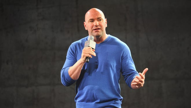 UFC president Dana White will present a UFC Fight Night card Jan. 30 at the Prudential Center in Newark.