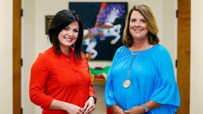 Memphis Oral School for the Deaf will have new leadership in Executive Director Lauren Hays (left) and Principal Shannon Hall.