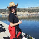 Sally Pritchett is on the Monterey County Sheriff's Office Public Safety Dive Team.