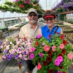 Pat and Becky Parker grow flowers and plants for Ace Hardware in Great Falls at their greenhouses near Ulm.