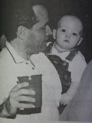 You're never too young to get involved in politics, or at least Aidan Cassidy thought so as he payed close attention to what was going on at a campaign rally for U.S. Rep. Ed Whitfield in 2000.