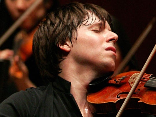 Joshua Bell, violinist and music director for the Academy of St. Martin in the Fields