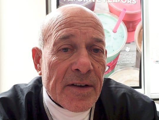 47-year veteran high school sports referee  Howie Green.