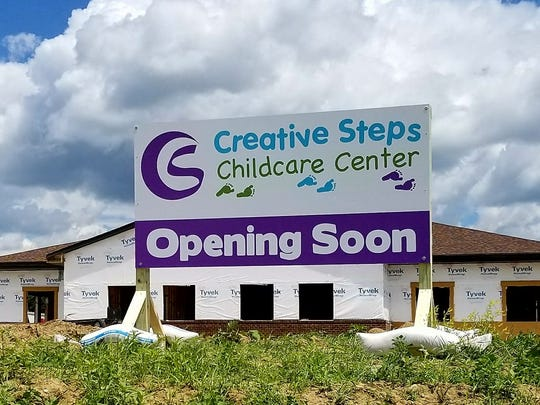 Creative Steps Childcare Center recently was finished and will open Tuesday.