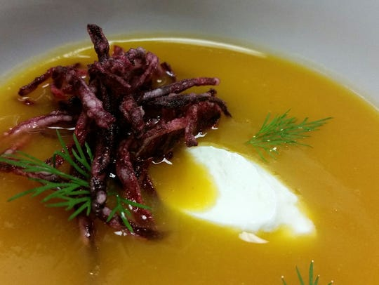 Sam's of Gedney Way will serve a butternut squash soup