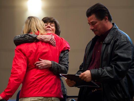 Karen Pederson gives Smoky Mountains Service DogsÕ
