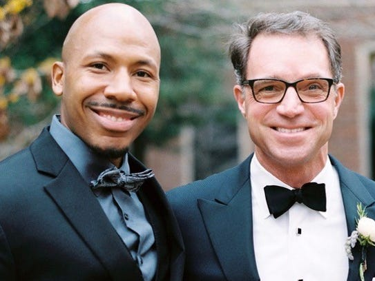 In 2011, Donald Reed, left, asked his mentor, Hal Cato,