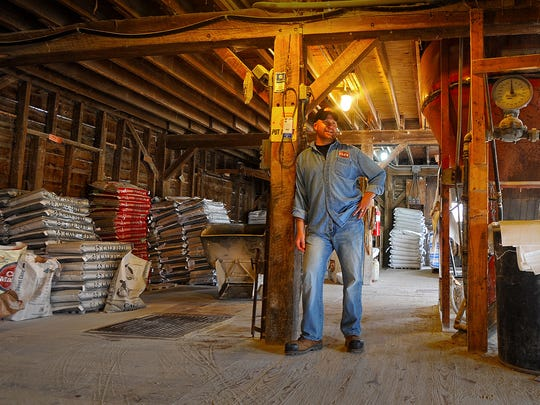 Donnie Clark is co-owner runs the operations at Elzy Millng and Trade Inc. in Bellvile. Elzy was the most recent chamber winner for small business of the year.