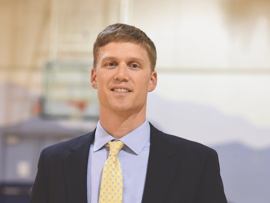 Carl Boland is the new athletic director at Asheville School.