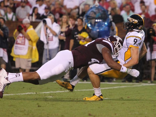 MSU Vs. USM KEVIN WARREN
