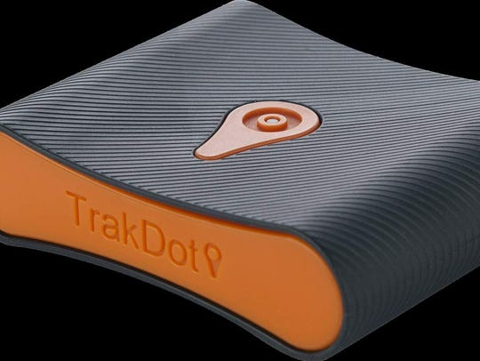 The Trakdot uses your cell network to determine your