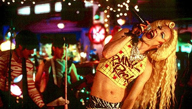 """A scene from the 2001 movie """"Hedwig and the Angry Inch,"""" based on the stage musical."""