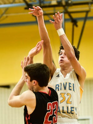 River Valley senior Danyon Hempy was named All-Star Player of the Year for Marion County boys basketball players in 2015-16.