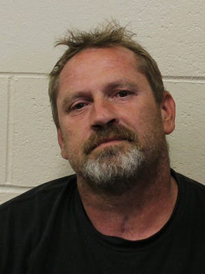 Dennis White, 47, of Pittsville was accused of dirving on a suspended license three times in two days. On the second time, he was found with a pack of small dogs inside his RV, Wicomico County deputies said.