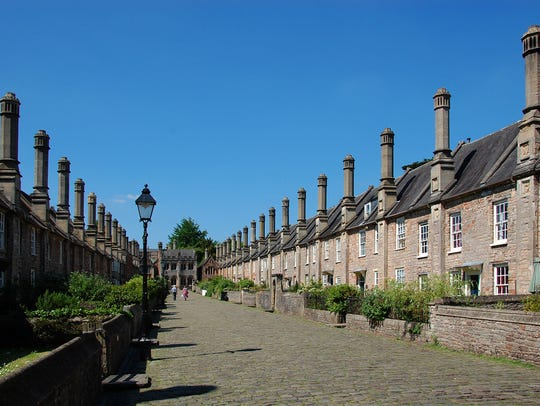Lined with perfectly pickled 14th-century houses, Vicars'