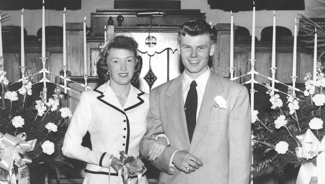 Turner Wedding, February 10, 1951.