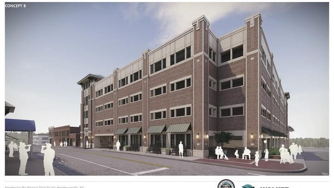 A parking deck the city hopes to construct downtown has been cleared by the Hendersonville Planning Board, which unanimously approved a conditional rezoning for the lot on Fifth Avenue West Monday.
