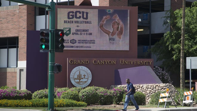 Grand Canyon University officials announced Tuesday that the school's accreditor has approved their application to convert to a non-profit.