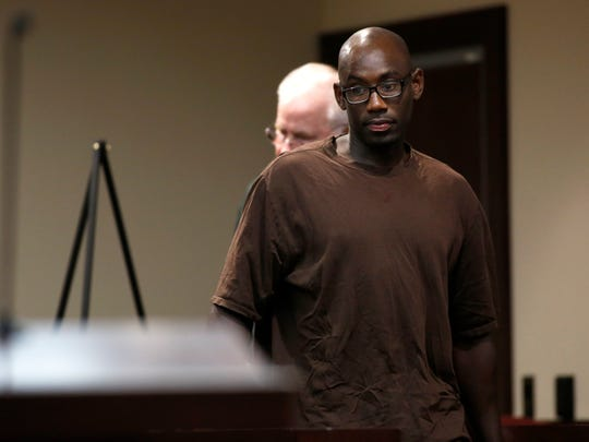 Kelsey Kinard, who shared a cell with Henry Segura Jr. while he was in Oklahoma City, before being transferred to Tallahassee, testified against Segura during his trial at the Leon County Courthouse on Tuesday, Aug. 8, 2017.