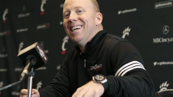 UC coach Mick Cronin has landed a true center in Nysier