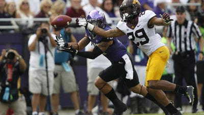 Briean Boddy-Calhoun (29), a Delcastle graduate who played collegiately at Minnesota, is one of 300 college players invited to the NFL Scouting Combine.