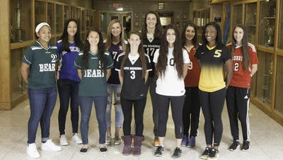 The HNT All-Area Girls Soccer First Team.