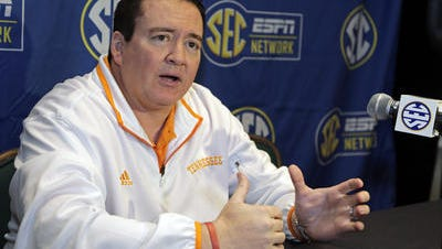 Tennessee men's basketball coach Donnie Tyndall