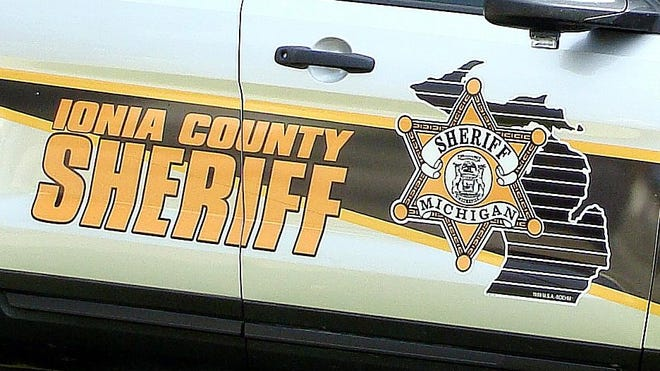 Ionia County Sheriff's Office vehicle.