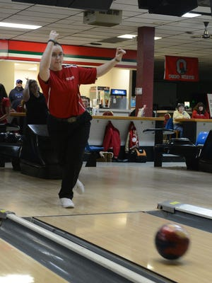 Port Clinton's Reilly Wittman was recognized Northwest District bowler of the year.