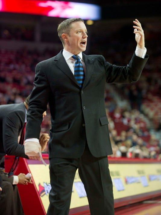 NCAA Basketball: Louisiana Tech at Arkansas