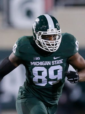 Michigan State defensive end Shilique Calhoun