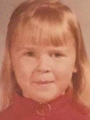 Carol Ann Cole as a young child.