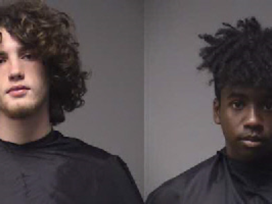 Austin Daniel Burnett, left, and Marc Anthony Brayboy.