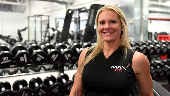 Kristin Myers obtained her personal training certification through the National Academy of Sports Medicine in 2016 and has been training and teaching group fitness classes at Maximum Fitness Center in Newark ever since.