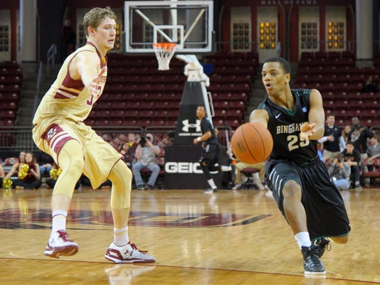NCAA Basketball: Binghamton at Boston College