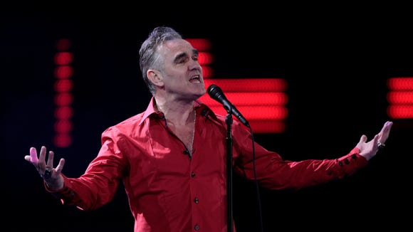 Morrissey performs in Chile.
