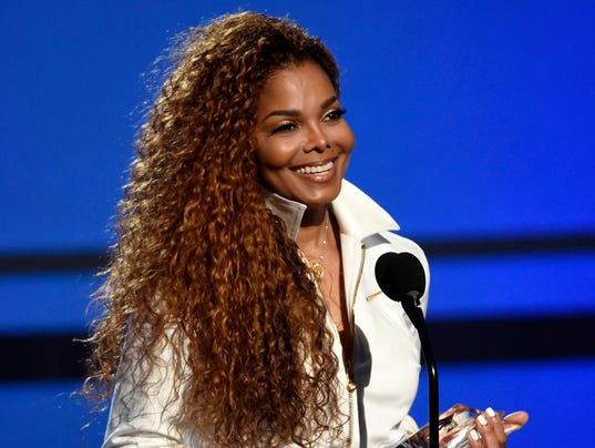 AP PEOPLE JANET JACKSON A FILE ENT USA CA