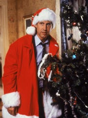 """Chevy Chase in a scene from """"Christmas Vacation."""""""