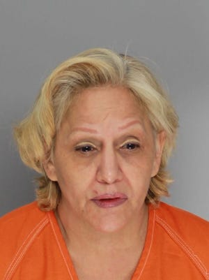 Luna Sandra Gonzalez was arrested Tuesday, June 6,  2017, on suspicion of aggravated assault with a deadly weapon, possession of a controlled substance and possession of marijuana.