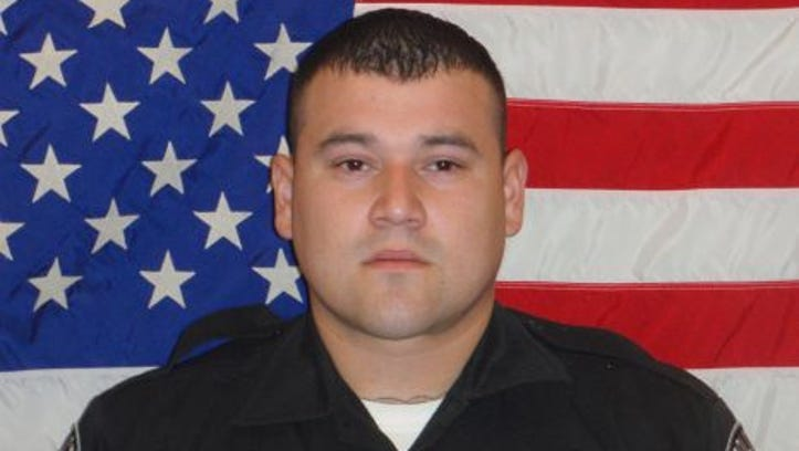 San Antonio police said they have made an arrest in the murder of Balcones Heights police officer, Julian Pesina.
