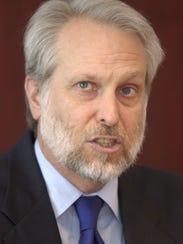 David Kirby speaks in 2005 during his time as U.S.