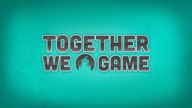 The logo for Logitech project 'Together We Game.'